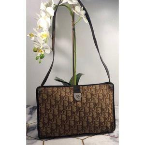 Christian Dior monogram canvas bag